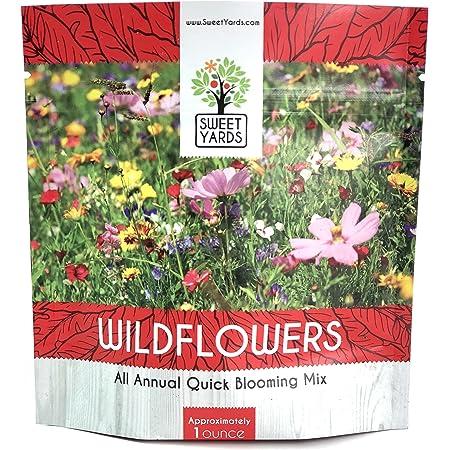 Original Package 200 Drought Tolerance Wildflowers Mix Seeds K007