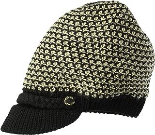 Calvin Klein Women's Textured Lurex Cabbie Hat