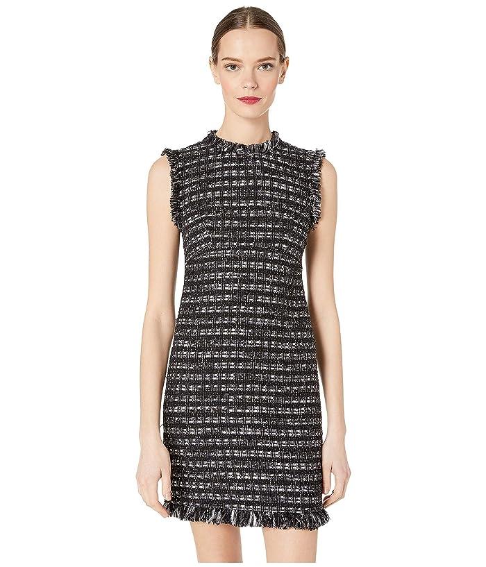 Boutique Moschino Sheath Dress (Black/White) Women