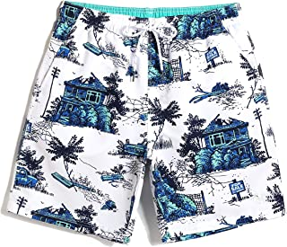 Waterproof Holiday Swimming Trunks,Men's Beach Pants Quick Dry Swimwear,Travel,Nice Design