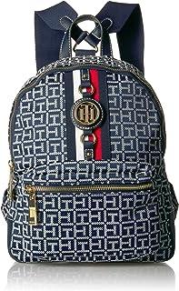 Women's Backpack Jaden, Navy/White, One Size