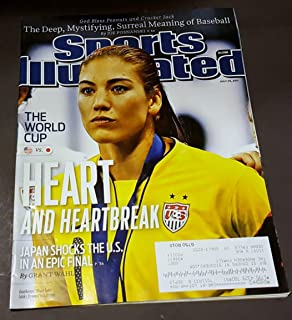Sports Illustrated July 25 2011 Hope Solo/USA Women's Soccer on Cover (World Cup), Meaning of Baseball, Derek Fisher/Los Angeles LA Lakers