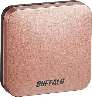 BUFFALO 無線LAN親機 エアステーション 11ac/n/a/g/b 433/150Mbps ピンクゴールド WMR-433W-PG
