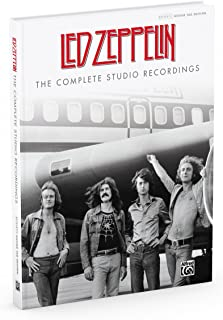 Led Zeppelin: The Complete Studio Recordings: Authentic Guitar Tab, Hardcover Book