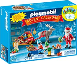 PLAYMOBIL Santa's Workshop Advent Calendar (Discontinued by manufacturer)