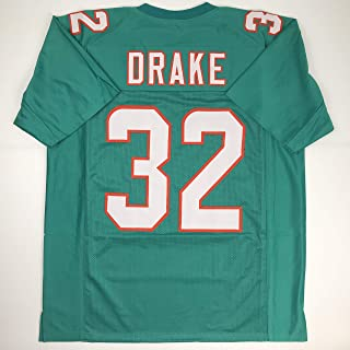 Unsigned Kenyan Drake Miami Green Custom Stitched Football Jersey Size XL New No Brands/Logos