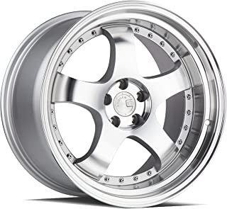 AodHan AH03 Wheel - Silver Machined Face and Lip: 19x11 Wheel Size; 5x114.3 Lug Pattern; 73.1mm Hug Bore; 22mm Off Set.