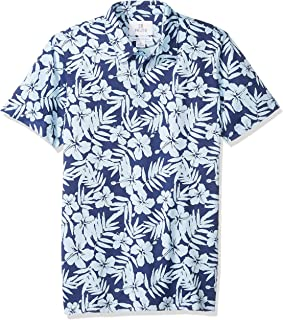 28 Palms Men's Relaxed-Fit Performance Cotton