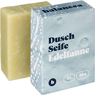 BALANCEA Seife Edeltanne/Haarseife Naturseife Duschseife / 1er Pack 1 x 95 g