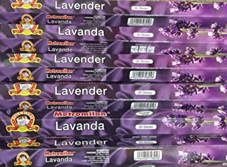 120 Lavender Incense Sticks, Scent Of Love, Trusted Metromilan Cat Brand