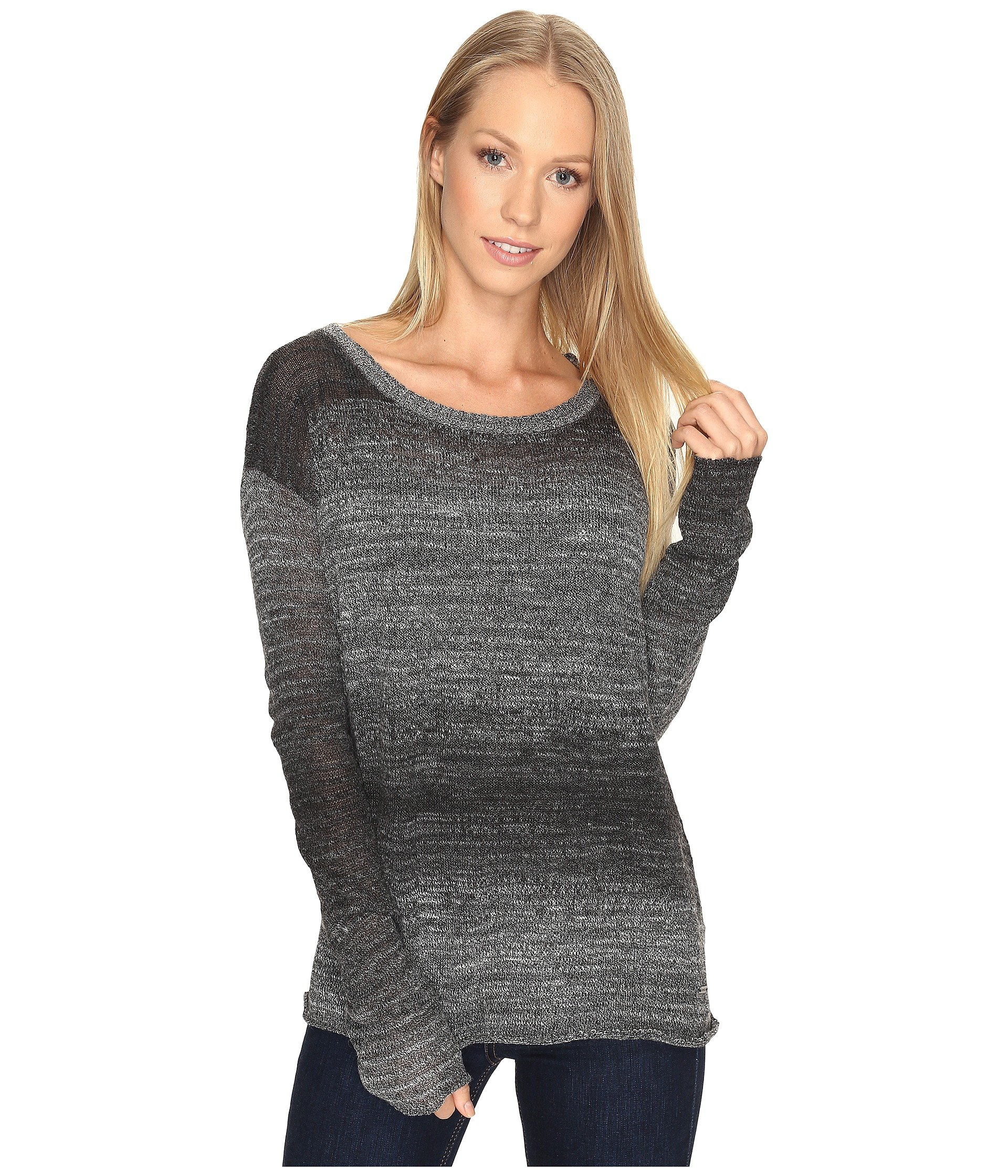 Nightingale Sweater, Black/White