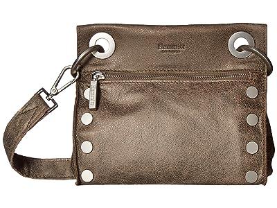Hammitt Tony Small (Pewter/Brushed Silver) Cross Body Handbags