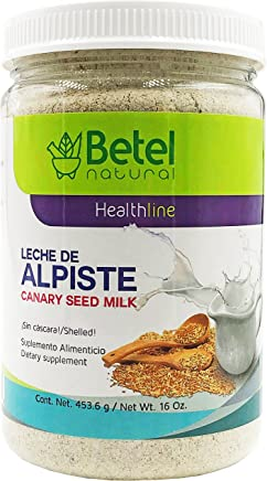 Leche de Alpiste by Betel Natural - 100% Canary Seed Milk & No Silica -