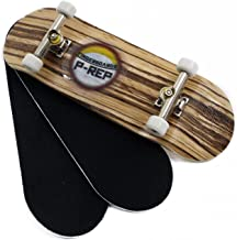 Peoples Republic P-REP Starter Complete Wooden Fingerboard 30mm x 100mm - Zebra