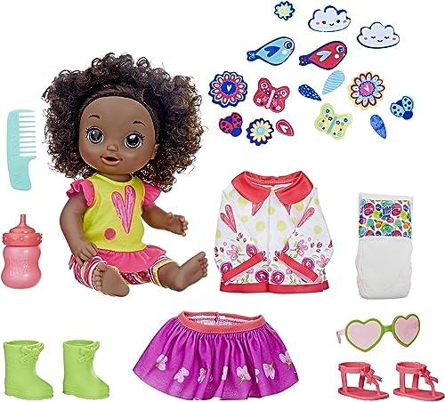 Descuento del 70% barato Baby Baby Baby Alive So Many Styles Baby (negro Curly Hair)  descuento de ventas en línea