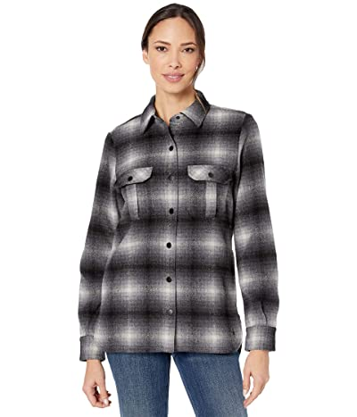Smartwool Anchor Line Shirt Jacket (Medium Gray) Women