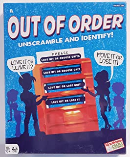 Classic Board Game: Out of Order