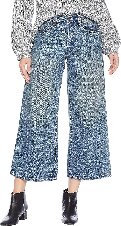 [BLANKNYC] Blank NYC Womens Wide Leg Crop in Dip & Do It