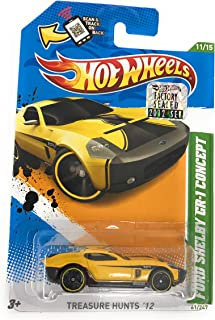 2012 Hot Wheels T-Hunt Ford Shelby GR-1 Concept Treasure Hunt '12
