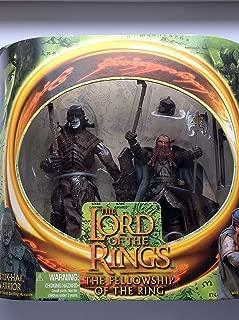Lord of the Rings Uruk-hai Warrior vs. Gimli Action Figures