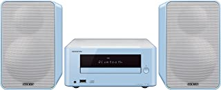 Onkyo CS-265(LB) CD HiFi Mini System (CD Player, MP3, Radio, 2 x 20 Watt Output, Two-Way Speakers, Bluetooth, NFC, Music S...