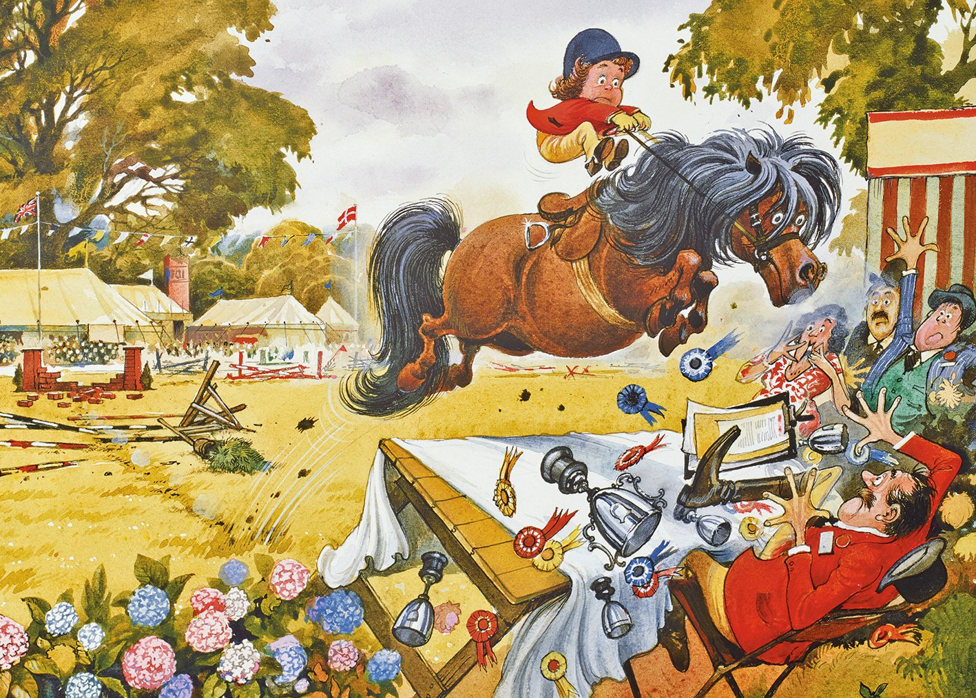 500 Piece Gibsons Thelwell Boxing Up Jigsaw Puzzle