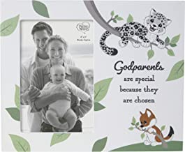 Precious Moments 203116 Godparents are Special Wood/Glass Photo Frame