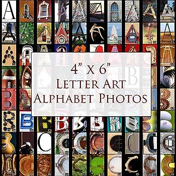 100 Photo Letters Letter Art DI... Photograph Alphabet A B C- Standard 4x6