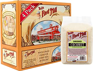 Bob's Red Mill Shredded Coconut (Unsweetened), 24-ounce (Pack of 4)