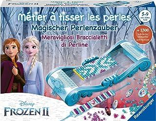 Ravensburger- Métier à tisser les perles - Loisir Créatif - création de bijoux - Reine des Neiges 2- 4005556180752 - versi...