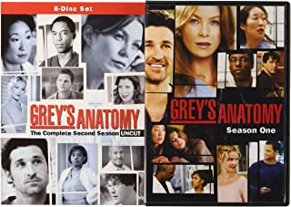 Grey's Anatomy Starter Bundle Season 1 and 2
