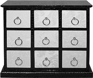 Premier Housewares 2403249 - Armario de salón, Color Negro