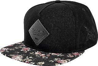 100/% Unisex Kappe Cap Pioneer Snapback Basecap Schwarz Erwachsene Käppi