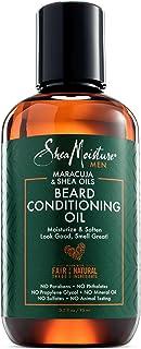 Shea Moisture Maracuja And Shea Oils Beard Conditioning Oil For Men, 94.6 ml