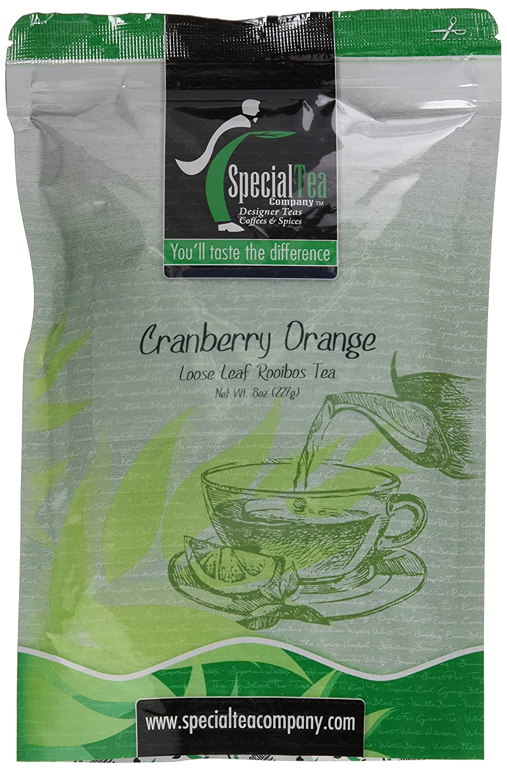 Special Tea Loose Leaf Cranberry lowest price Ranking integrated 1st place Orange Ounce Rooibos 8