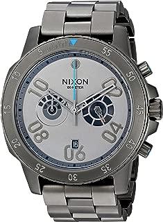 Nixon Men's 'Ranger Chrono SW, Millenium Falcon Gunmetal' Quartz Stainless Steel Casual Watch, Color:Silver-Toned (Model: A549SW-2385-00)