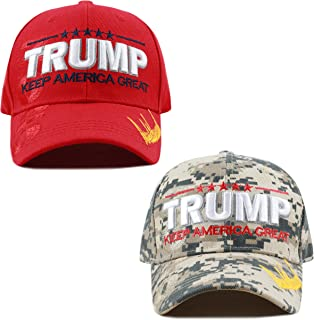 8a51a6b467a THE HAT DEPOT Exclusive Donald Trump Keep America Great Make America Great  Again 3D Signature