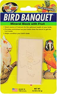 Zoo Med Bird Banquet Mineral Block With Fruit