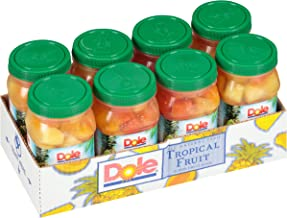 Dole, Tropical Fruit in 100% Fruit Juice, 23.5oz, 8 jars