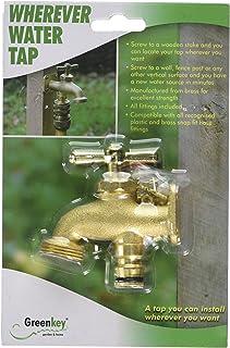 """Greenkey 885"""" Wherever Water Tap, Brass, 20 x 13 x 4 cm"""