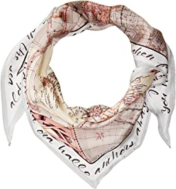 Vince Camuto You Had Me At Ahoy Kite Scarf