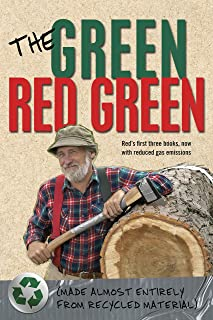 The Green Red Green: Made Almost Entirely from Recycled Material