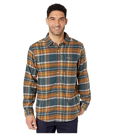 Columbia Boulder Ridge Long Sleeve Flannel (Night Shadow Multi Tartan) Men