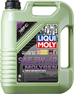 Liqui Moly 20232 Molygen New Generation 5W40 Motor Oil, 169.05 Fluid_Ounces