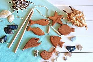 """Developing Toy""""Fishing"""", Wooden game set"""