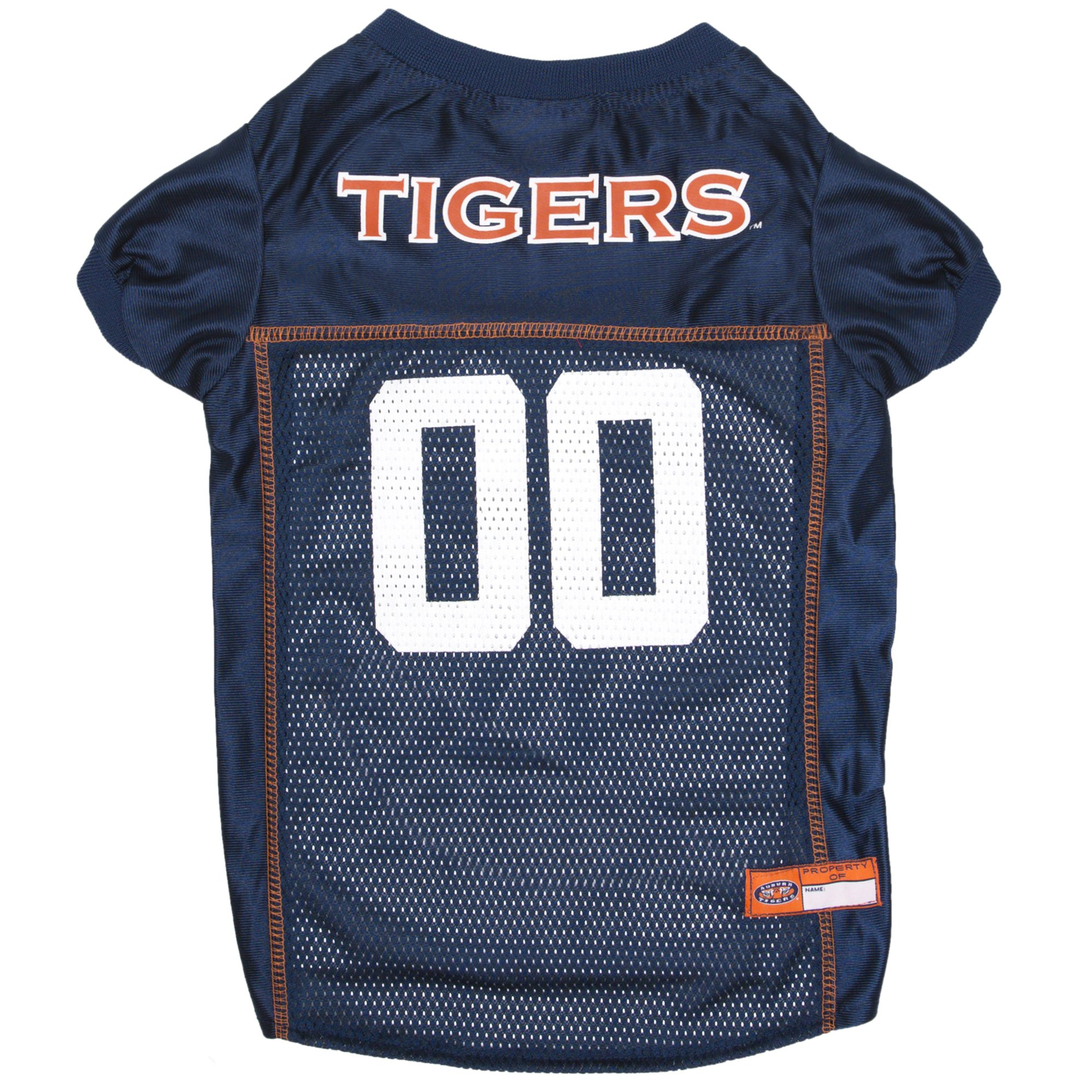 Pets First Collegiate Auburn Tigers Dog Mesh Jersey Value not found X-S