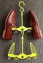 DHAVJ Shoes Drying Hanger Houseware Plastic Slippers Shelf Rack Hook Holder Plastic Green (1)