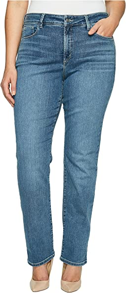 NYDJ Plus Size Plue Size Marilyn Straight in Heyburn Wash