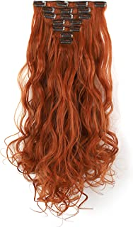 Best clip in synthetic hair extensions Reviews