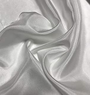 White - 8mm Silk Habotai Fabric